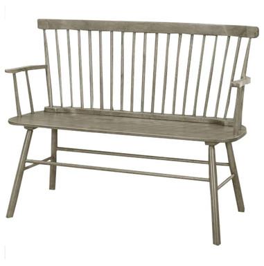 "48"" Grey Farmers Bench"