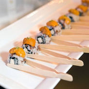 Rainbow Sushi Bites