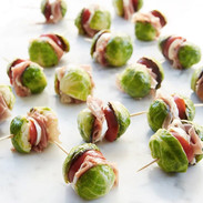 Brussel  Sprout, Prociutto, Caprese Appetizers
