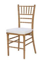 Gold Aluminum Chavari Chair