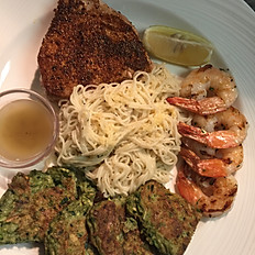 SEAFOOD GRILLED COMBO