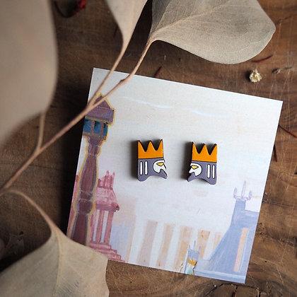 """Серёжки """"Два короля"""""""