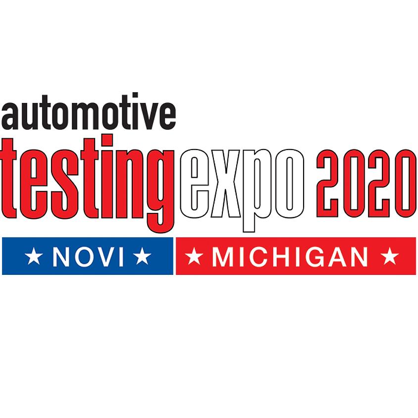 Automotive Testing Expo Novi Michigan 2020