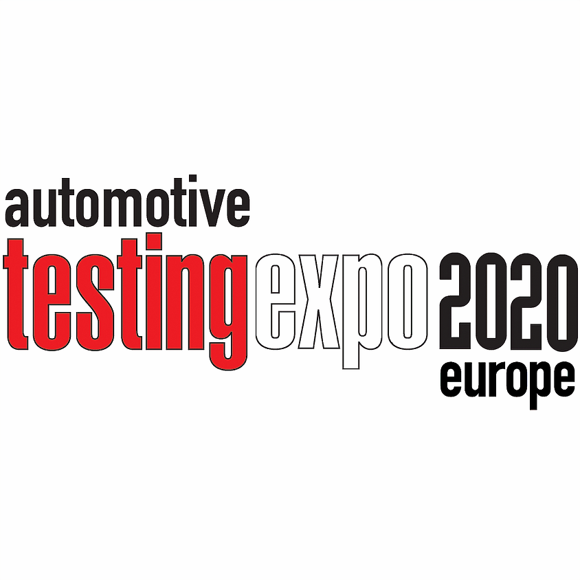 Automotive Testing Expo 2020 Europe - NEW DATES COMING SOON!