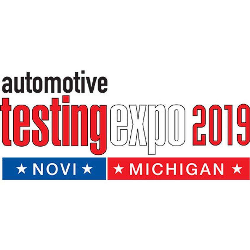 Testing Expo 2019 Novi, Michigan