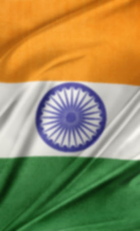 Closeup of silky Indian flag.jpg