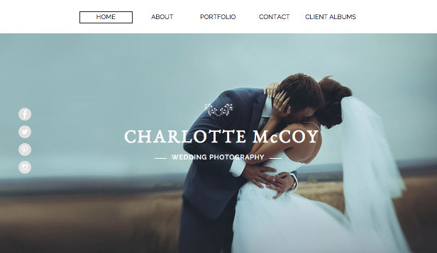 Photography Website Templates Wix - Free photography website templates