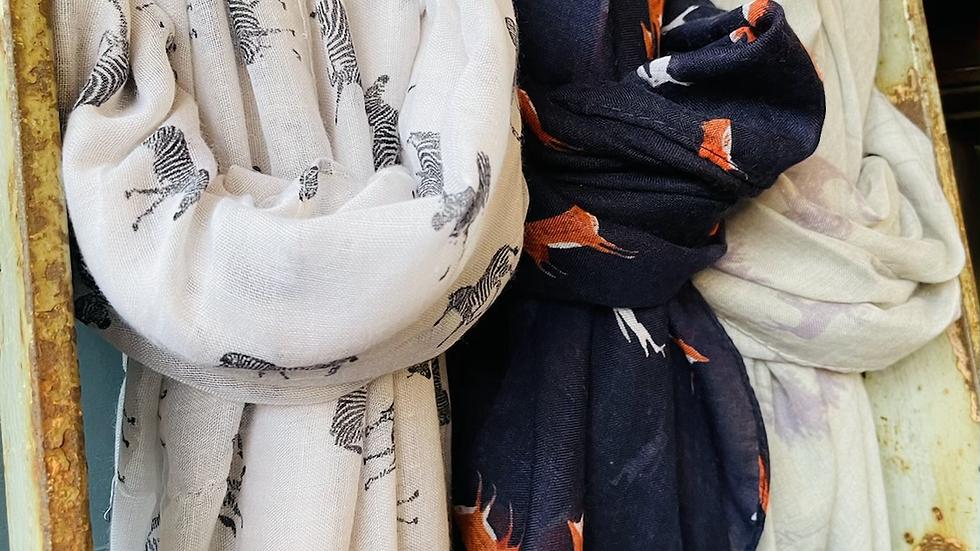 Various scarves