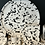 Thumbnail: Large black and white splatter tray