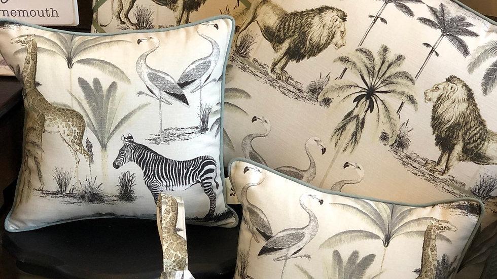 Medium zebra cushion