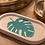 Thumbnail: Green and white Monstera tray