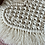 Thumbnail: Macrame heart coaster