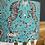 Thumbnail: Teal zebra lampshade 30cm
