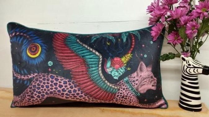 Large EJS Lynx cushion