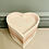 Thumbnail: Pink and white heart tray