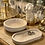 Thumbnail: Beautiful copper/white tray