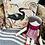 Thumbnail: Beautiful velvet birds cushions 45 x 45
