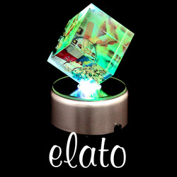 Pha lê lập phương xoay ELATO