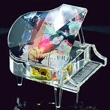 Pha lê đàn piano kim cương