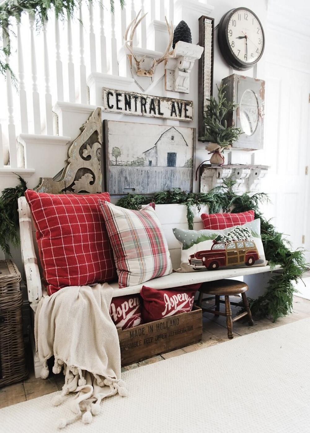 Quà Noel cho bạn gái - bộ chăn gối xách tay