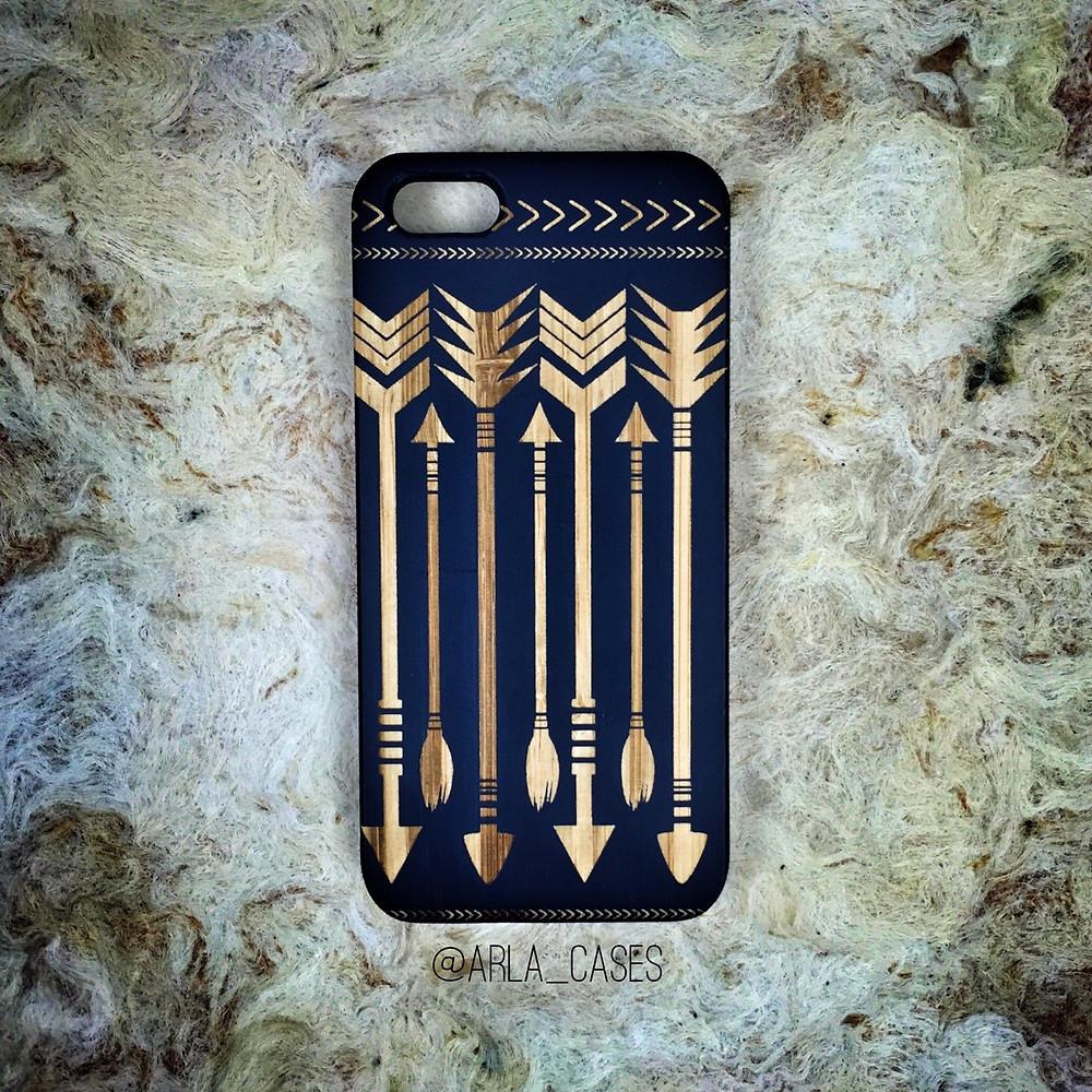 Quà Sinh Nhật Tặng Bạn Trai - Ốp điện thoại gỗ