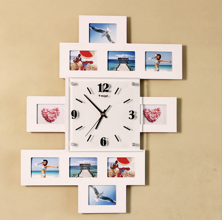 Quà tặng kỷ niệm ngày cưới - đồng hồ khung ảnh