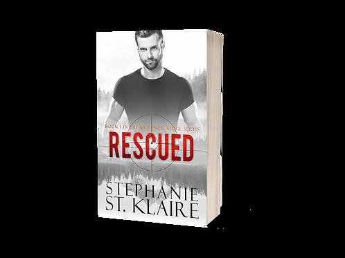 MR1: Rescued  Signed Paperback