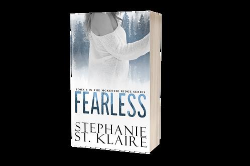 SCRATCH & DENT: Fearless, A McKenzie Ridge Novel - Signed