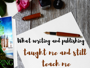 What writing and publishing have taught me - and still teach me