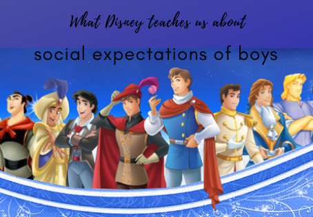 The social pressure on boys, which Disney films highlight