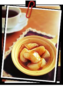タルトタタン風焼きりんご