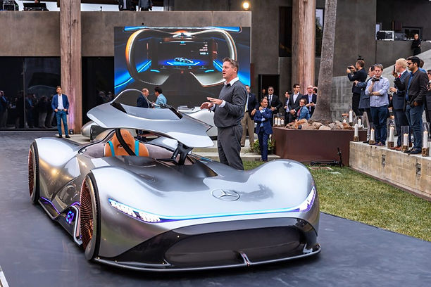 Mercedes-Benz unveils stunning new 750-HP all-electric race