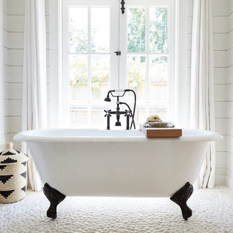 BATHROOM INSPO: BEFORE+ AFTER