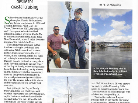 Good Old Boat article written by Peter McKelvey