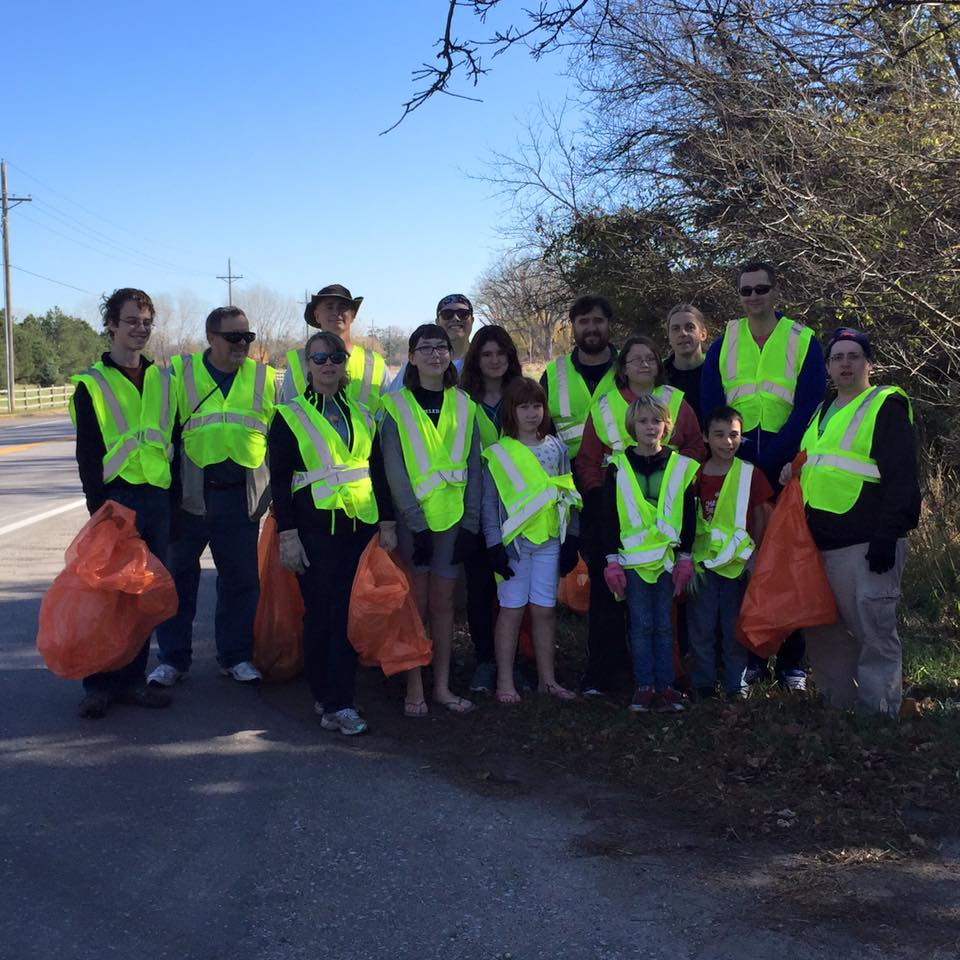 OA's semi-annual highway cleanup
