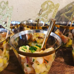 ceviche cups