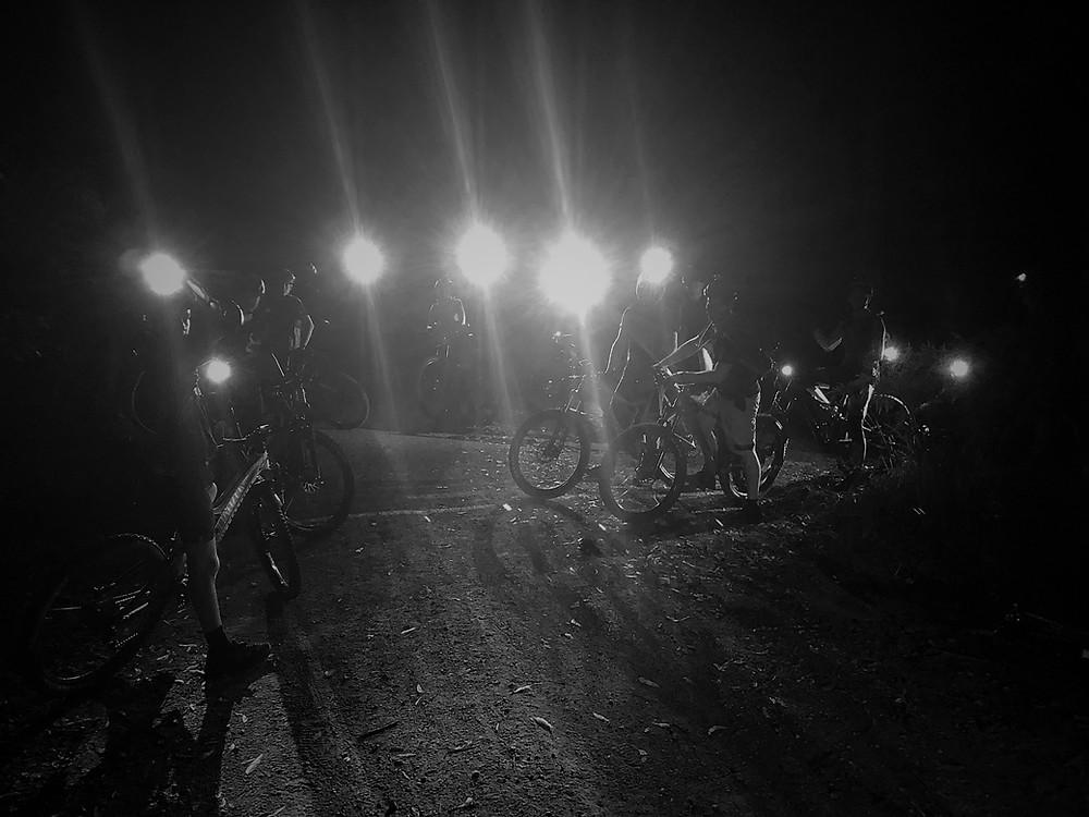 MTB at night