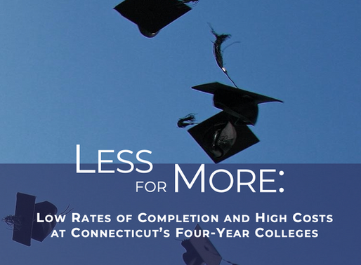 Less for More: Low Rates of Completion and High Costs at Connecticut's Four-Year Colleges