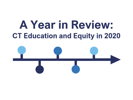 A Year in Review: Connecticut Education and Equity in 2020
