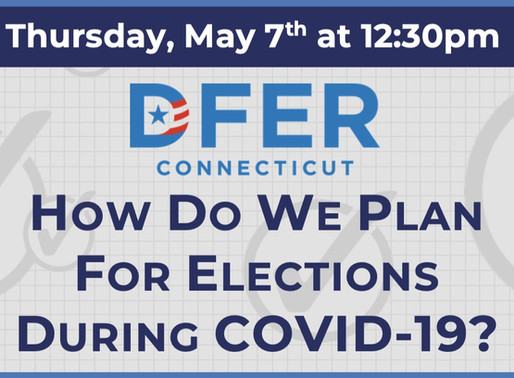 Phone Forum: How Do We Plan for Elections During COVID-19?