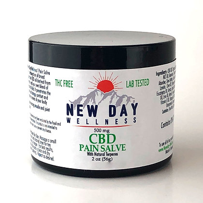 ---- EXTRA STRENGTH ----Pain Salve -500 mg CBD -2oz