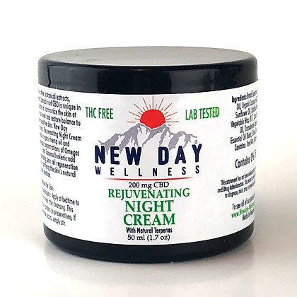 Rejuvenating Night Cream - 50 ml