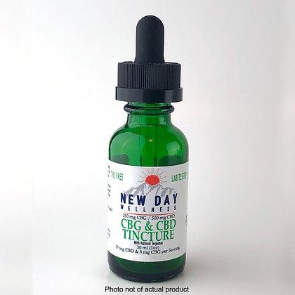 CBG / CBD / CBN  Peppermint Tincture - 500cbd - 300cbg - 250cbn -30 ml