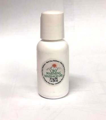 Warming Massage Oil Tester – 1 oz