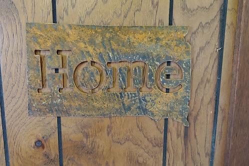 South Dakota Home - Metal Sign