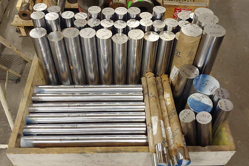 Steel Round stock. Various Sizes Available.
