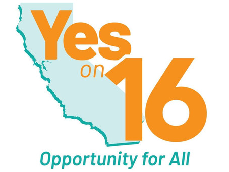 Voting for Social Justice: Yes on Prop 16