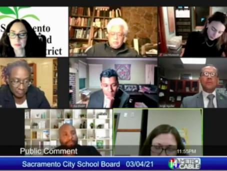 SCUSD Board adopts return to school plan, anti-racism training