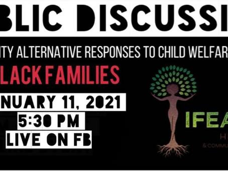 Public Discussion: Community Alternatives to Child Welfare