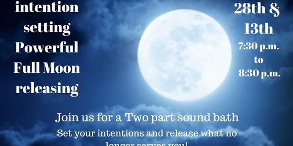 Full Moon Release sound bath
